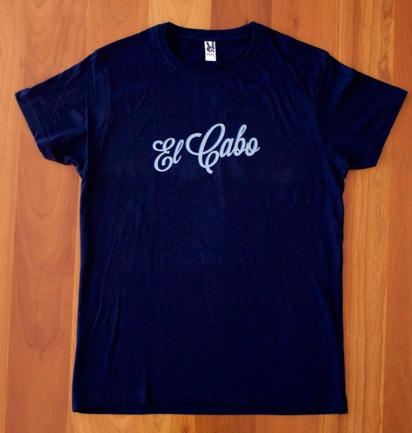 Camiseta Cerveza El Cabo Clásica Azul