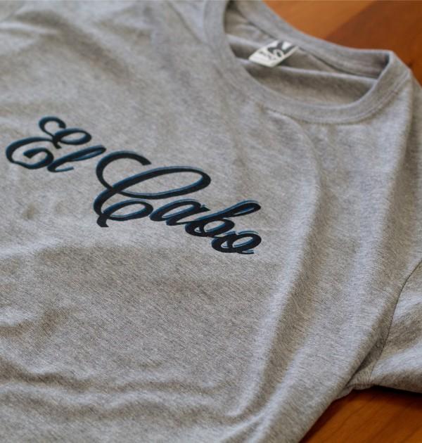 Camiseta Cerveza El Cabo Clásica Gris