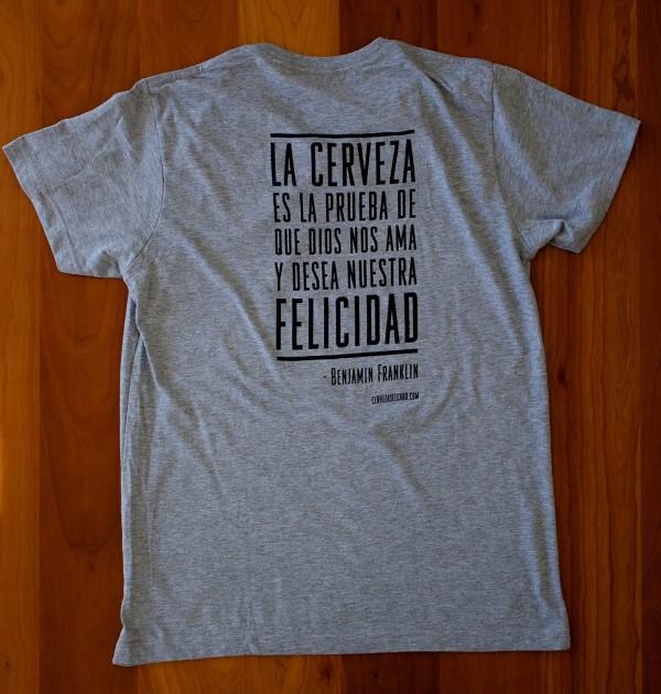 Camiseta Cerveza El Cabo Franklin